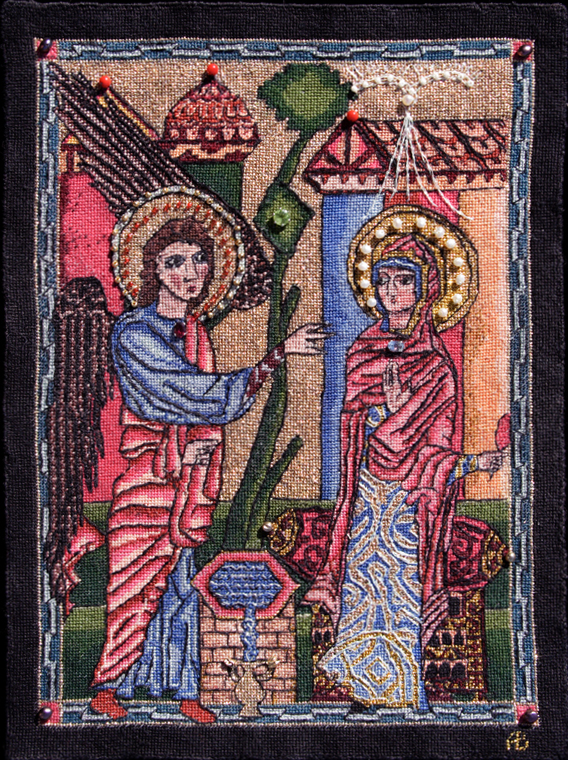 The Annunciation (Glajor Gospels)