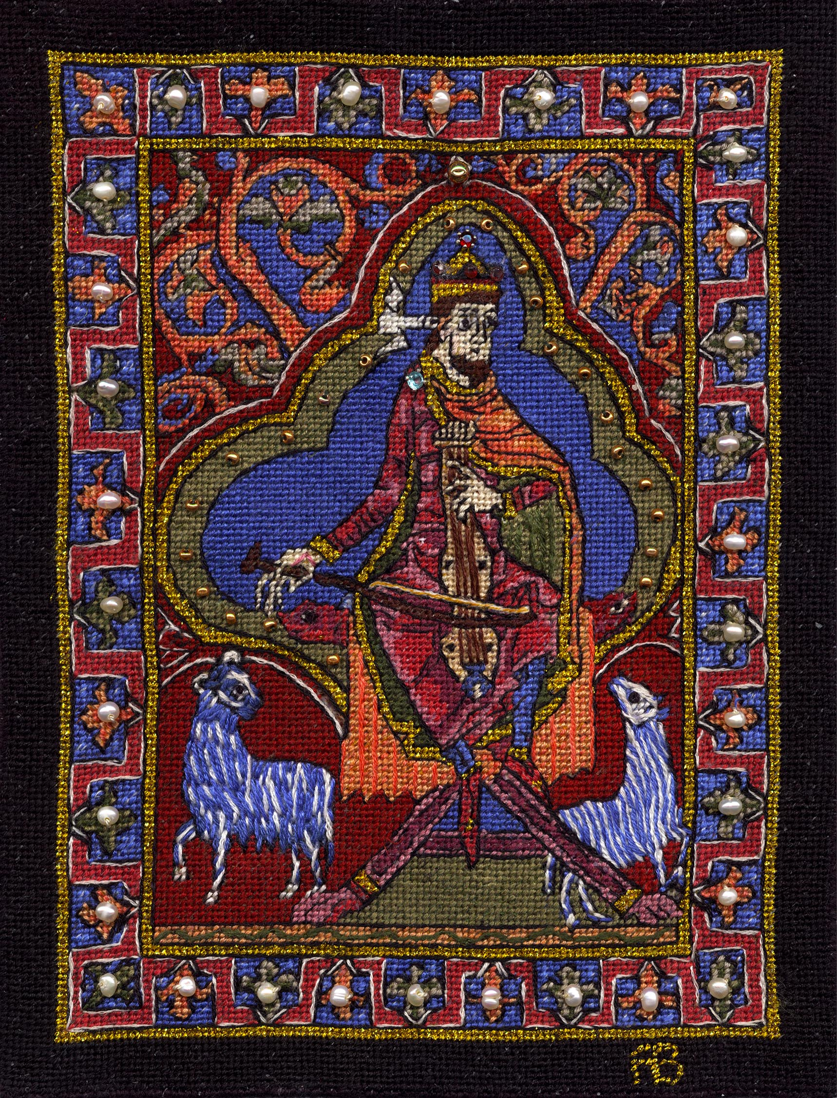 King David, Musician